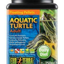 EXO TERRA AQUATIC TURTLE FOOD ADULT FLOATING PELLETS – 260 GM