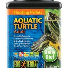 EXO TERRA AQUATIC TURTLE FOOD ADULT FLOATING PELLETS – 560 GM