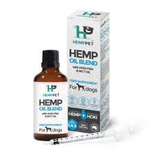 HEMP OIL BLEND WITH HOKI FISH AND MCT OIL FOR DOGS 100ML