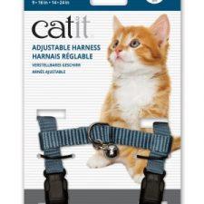 CATIT NYLON CAT ADJUSTABLE HARNESS LARGE LIGHT BLUE