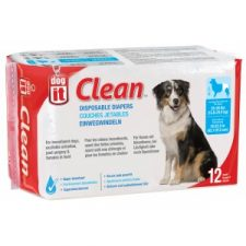 DOGIT DOG DIAPERS – LARGE ( 16 – 25 KILOS) – 12 PACK