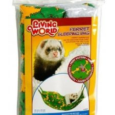 LIVING WORLD FERRET SLEEPING BAG GREEN 29 X 44CM