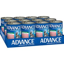ADVANCE ADULT CHICKEN, SALMON RICE 410G X12