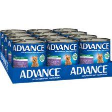 ADVANCE ADULT CHICKEN, TURKEY RICE 700G X12
