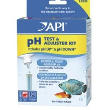 API DELUXE PH TEST KIT WITH LIQUID ADJUSTERS
