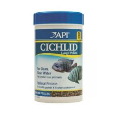 API CICHLID PELLETS LARGE 200GM.