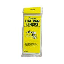 LITTER PAN LINER GIANT PKT 5