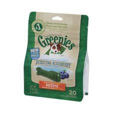 GREENIES TREAK-PAK BLUEBERRY PETITE 340G