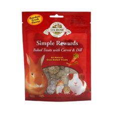 OXBOW SIMPLE REWARD CARROT/DILL 60G