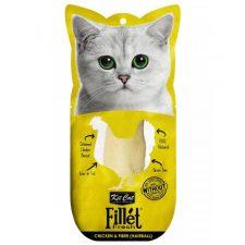 KIT CAT FILLET FRESH CHICKEN FIBER (HAIRBALL) 30GM