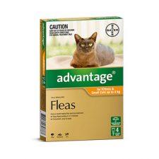 ADVANTAGE CAT 0-4KG 4 PK