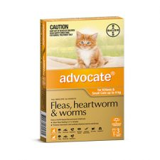ADVOCATE CAT SMALL UNDER 4KG 3PK