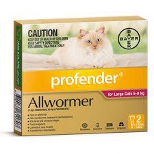 PROFENDER CAT WORMER LARGE 2'S