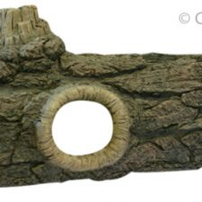 AQUA ONE ORNAMENT LOG W- HOLE LGE 62CM