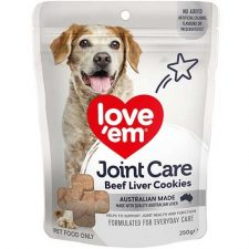 LOVE EM BEEF JOINT CARE COOKIE 250G