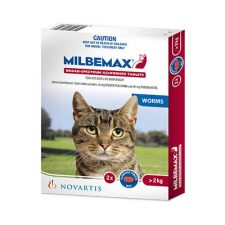MILBEMAX CAT LGE OVER 2KG RED