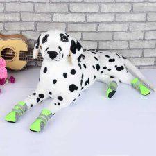 DOG FASHION MESH BOOTS – GREEN LARGE (5.3 X 4CM)