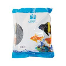 GRAVEL GLO-STONE LARGE BLACK 20KG