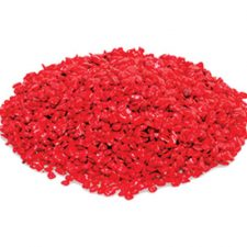 GRAVEL GLO-STONE LARGE RED 1KG