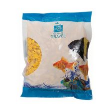 GRAVEL GLO-STONE LARGE YELLOW 1KG