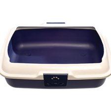 LITTER PAN WITH RIM 20X16X16