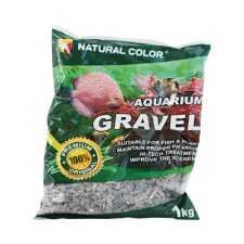 GRAVEL NAT BLACK/GREEN SML 5KG