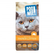 LITTER RECYCLED PAPER INK FREE 30LT