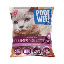 LITTER POOWEE CLUMPING LAV 7.5 KG