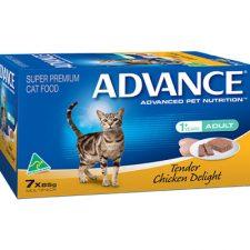 ADVANCE ADULT TENDER CHICKEN DELIGHT MULTIPACK 7X85G