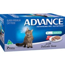 ADVANCE ADULT WITH DELICATE TUNA MULTIPACK 7X85G
