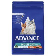 ADVANCE ADULT MULTI CAT CHICKEN SALMON 3KG