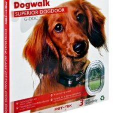 DOGWALK CLEAR FRAME DOG DOOR
