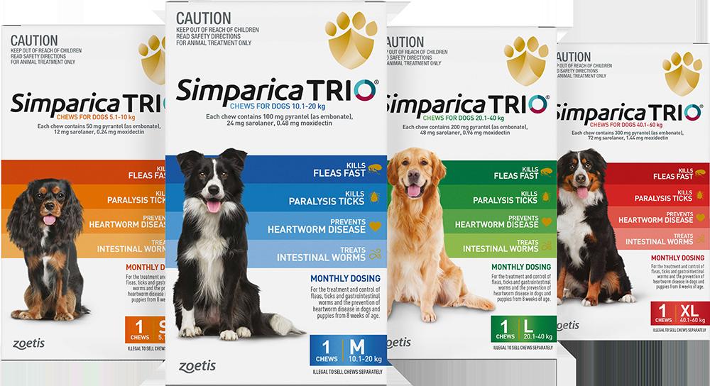 Simparica Trio