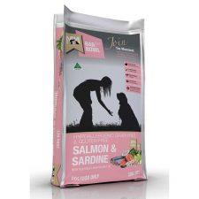 MEALS FOR MUTTS DOG SALMON SARDINE GRAIN FREE GLUTEN FREE 20KG PINK