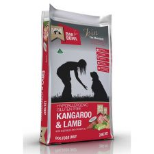 MEALS FOR MUTTS DOG KANGAROO LAMB GLUTEN FREE 20KG RED