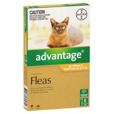 ADVANTAGE CAT 0-4KG 6 PK