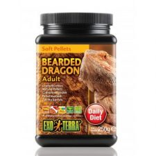 EXO TERRA BEARDED DRAGON FOOD ADULT SOFT PELLETS – 250 GM