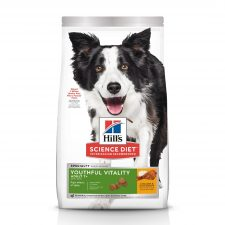 HILLS SCIENCE DIET CANINE ADULT 7+ YOUTHFUL VITALITY 1.58KG