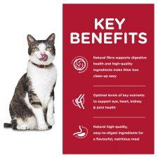 HILLS SCIENCE DIET ADULT 11+ INDOOR DRY CAT FOOD 3.17KG