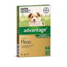 ADVANTAGE DOG 0-4KG 4 PK